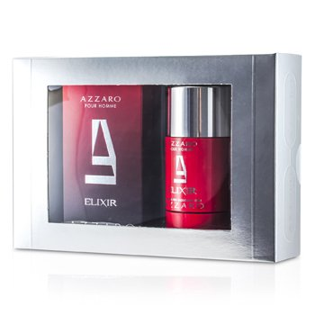 Loris AzzaroAzzaro Coffret: Elixir Eau De Toilette Spray 50ml/1.7oz + Deodorant Stick 75ml/2.7oz 2pcs