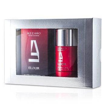Loris Azzaro Azzaro Coffret: Elixir EDT Spray 50ml/1.7oz + Deodorant Stick 75ml/2.7oz 2pcs