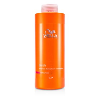 WellaEnrich Moisturizing Shampoo For Dry & Damaged Hair (Normal/Thick) 1000ml/33.8oz