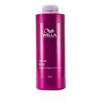 WellaResist Strengthening Shampoo (For Vulnerable Hair) 1000ml/33.8oz