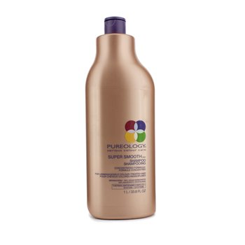 PureologySuper Smooth Shampoo (For Unmanageable Colour-Treated Hair) 1000ml/33.8oz