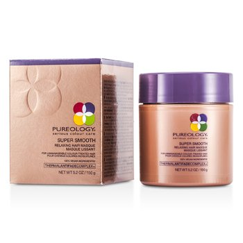 Pureology Super Smooth Relaxing Hair Masque (For Unmanageable Colour-Treated Hair) (New Packaging)  150g/5.2oz