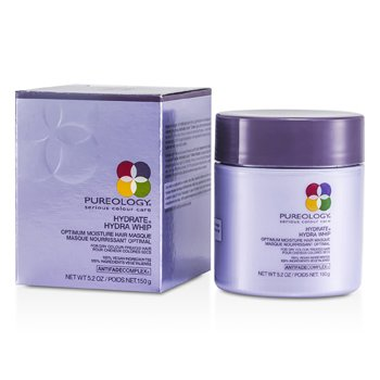 PureologyHydrate Hydra Whip Optimum Moisture Hair Masque (For Dry Colour-Treated Hair) 150g/5.2oz
