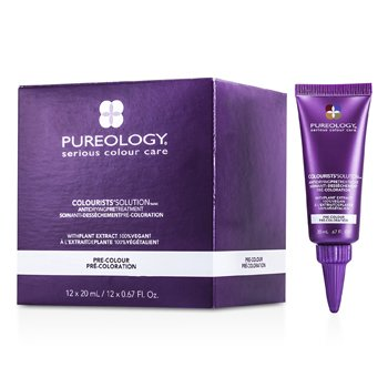 Pureology Colourists' Solution Anti Drying Pre Treatment  12x20ml/0.67oz