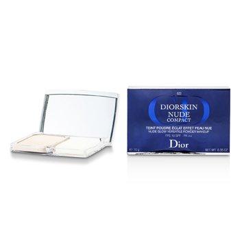 Christian Dior Diorskin Nude Compact Nude Glow Versatile Powder Makeup SPF 10 - # 022 Cameo  10g/0.35oz