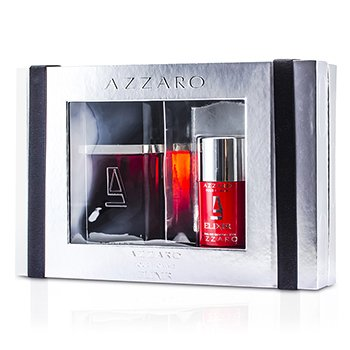 Loris AzzaroAzzaro Elixir Coffret: Eau De Toilette Spray 100ml/3.4oz + Deodorant Stick 75ml/2.7oz 2pcs