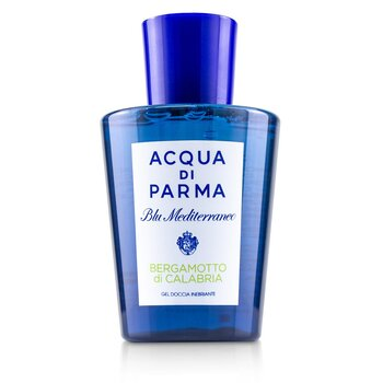 Acqua Di Parma Blu Mediterraneo Bergamotto Di Calabria Exhilarating Shower Gel (New Packaging) 200ml
