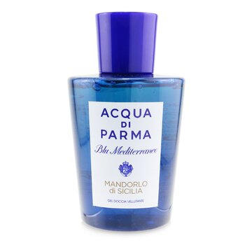 Image of Acqua Di Parma Blu Mediterraneo Mandorlo Di Sicilia Pampering Shower Gel New Packaging 200ml6.7oz