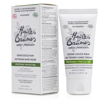 Huiles & Baumes Protecting Softening Hand Cream 50ml/1.69oz