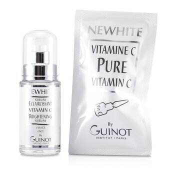 GuinotNewhite Vitamin C Brightening Serum (Brightening Serum 23.5ml/0.8oz + Pure Vitamin C 1.5g/0.05oz) 2pcs
