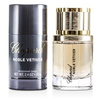 Chopard Noble Vetiver Coffret: Eau De Toilette Spray 50ml/1.7oz + Deodorant Stick 70g/2.4oz 2pcs
