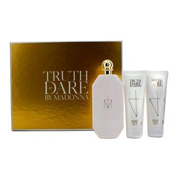 MadonnaEstuche Truth Or Dare: Eau De Parfum Spray 75ml/2.5oz + Loci�n Corporal 75ml/2.5oz + Gel de Ducha 75ml/2.5oz 3pcs