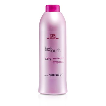 Wella Biotouch Color Protection Rinse (For Coloured and Highlighted Hair) (MFG Date : Apr 2011) 1500ml/50oz