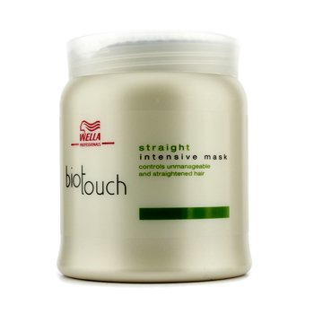 WellaBiotouch Mascarilla Alisadora Intensiva (Cabello Rebelde) 750ml/25oz