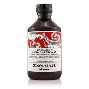DavinesNatural Tech Energizing Shampoo (For Scalp & Fragile, Thinning Hair) 250ml/8.45oz