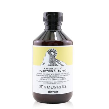 DavinesNatural Tech Purifying Shampoo (For Scalp with Oily or Dry Dandruff) 250ml/8.45oz