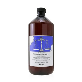 DavinesNatural Tech Rebalancing Shampoo (For Oily Scalp) 1000ml/33.8oz