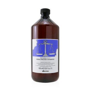 DavinesNatural Tech Rebalancing Shampoo (For Oily Scalp) 1000ml/33.8oz