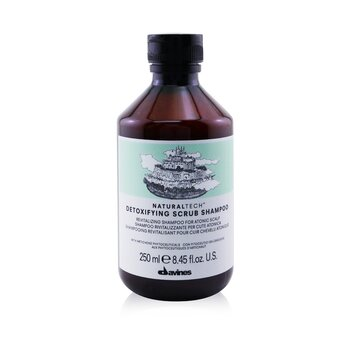 DavinesNatural Tech Detoxifying Scrub Shampoo (For Atonic Scalp) 250ml/8.45oz