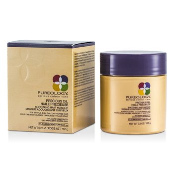 PureologyPrecious Oil Mascarilla Suavizante Cabello (Cabello Da�ado, Te�ido) 150g/5.2oz