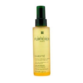Rene Furterer Karite Intense Nourishing Oil (For Very Dry  Damaged Hair and/or Scalp) 100ml/3.38oz