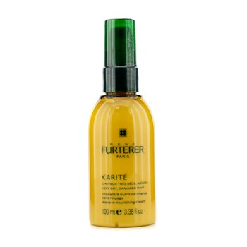 Rene FurtererKarite Crema Nutritiva sin Aclarado (Para Cabello Muy Seco, Da�ado)  100ml/3.38oz