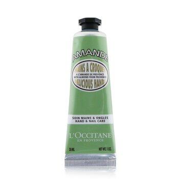 L'Occitane Almond Delicious Hands - Perawatan Tangan  30ml/1oz
