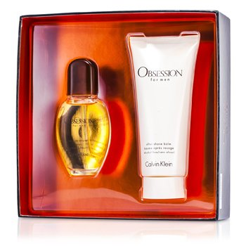 Calvin KleinObsession Coffret: Eau De Toilette Spray 30ml/1oz + After Shave Balm 100ml/3.4oz 2pcs