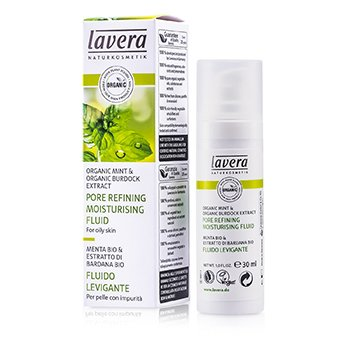LaveraPore Refining Moisturising Fluid - Mint (For Oily Skin) 30ml/1oz