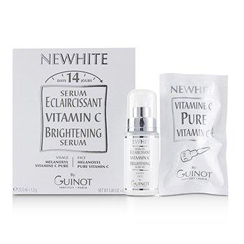 Guinot Newhite Vitamin C Brightening Serum (Brightening Serum 23.5ml/0.8oz + Pure Vitamin C 1.5g/0.05oz) (Box Slightly Damaged) 2pcs