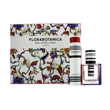 Balenciaga Florabotanica Coffret: Eau De Parfum Spray 50ml/1.7oz + Perfumed Body Lotion 100ml/3.4oz 2pcs