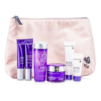 Kit de ViagemRenergie Multi-Lift Travel Set: Beauty Lotion + Cream + Emulsion  + Color Corrector + Serum + Eye Serum+ Bag 6pcs+1bag