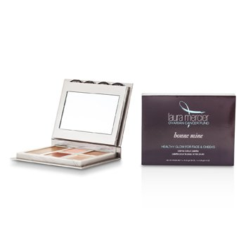 Laura MercierBonne Mine Healthy Glow For Face & Cheeks Palette: 1x Bronzer Veil + 2x Cheek Veils + 2x Glow Veils 5pcs