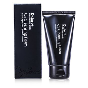 Dr. Jart Black Label Detox O2 Cleansing Foam 100ml/3.5oz skincare