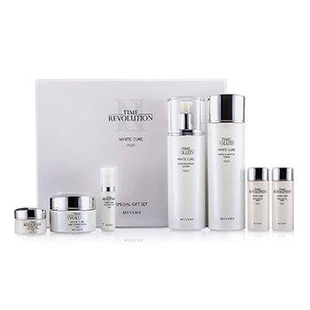 Missha Time Revolution White Cure Special Gift Set II: Toner 150ml & 30ml + Lotion 150ml & 30ml + Cream 50ml & 10ml + Serum 7ml 7pcs