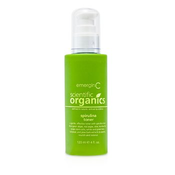 EmerginCScientific Organics Spirulina Toner 120ml/4oz