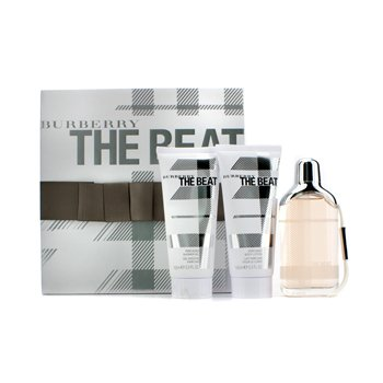 Burberry Estuche The Beat: Eau De Parfum Spray 75ml/2.5oz + Loci�n Corporal 100ml/3.3oz + Gel de Ducha 100ml/3.3oz  3pcs