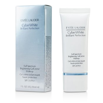 Estee LauderCyber White Brilliant Perfection Full Spectrum Brightening Gel Creme Makeup SPF 2130ml/1oz