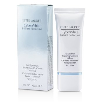 Estee Lauder Cyber White Brilliant Perfection Full Spectrum Maquillaje Gel Crema Blanqueador SPF 21 - # 03 Cool Vanilla  30ml/1oz