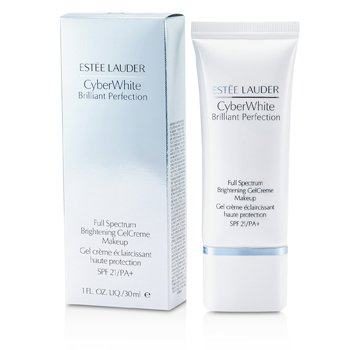 Estee LauderCyber White Brilliant Perfection Full Spectrum Maquillaje Gel Crema Blanqueador SPF 21 - # 05 Cool Creme 30ml/1oz