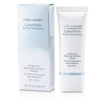 Estee Lauder Cyber White Brilliant Perfection Осветляющая Гелевая Кремовая Основа с Широким Спектром Защиты SPF 21 - # 05 Холодный