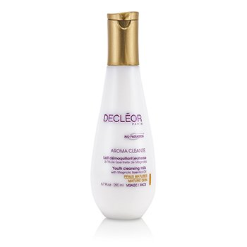 DecleorLeite de limpeza Aroma Cleanse Youth Cleansing Milk (Pele madura) 200ml/6.7oz