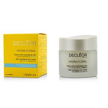 Decleor Hydra Floral 24hr Moisture Activator Rich Cream  50ml/1.69oz