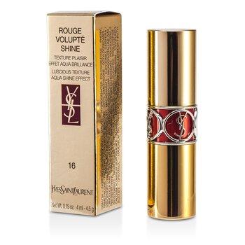 Купить Rouge Volupte Сияющая Губная Помада - # 16 Orange Impertinent/ Oragne Majorelle 4.5g/0.15oz, Yves Saint Laurent