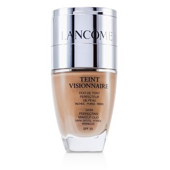 Lancome Teint Visionnaire Skin Perfecting Make Up Duo SPF 20 - # 010 Beige Porcelaine 2pcs