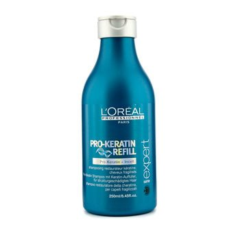 L'OrealProfessionnel Expert Serie - Pro-Keratin Refill Shampoo (For Damaged Hair) 250ml/8.45oz