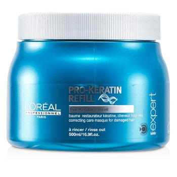 L'OrealProfessionnel Expert Serie - Pro-Keratin Refill Correcting Care Masque (For Damaged Hair) 500ml/16.9oz