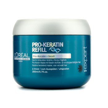 L'OrealProfessionnel Expert Serie - Pro-Keratin Refill Correcting Care Masque (For Damaged Hair) 200ml/6.7oz