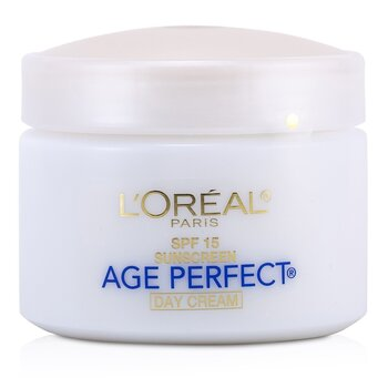L'OrealSkin-Expertise Age Perfect Hydrating Moisturizer SPF 15 (For Mature Skin) 70g/2.5oz