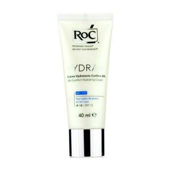 ROC Hydra+ 24h Crema Hidratante Bienestar SPF 15 (Todo tipo piel)  40ml/1.3oz